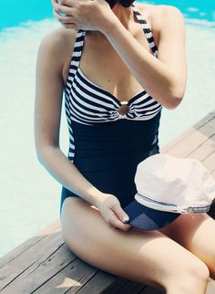 ALL SWIMSUITS ON THIS WEBSITE $30 Very cute modest swimsuits! :) pin now, look later
