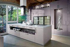 Lila Küche von Burger Bauformat / purple kitchen by Burger Bauformat