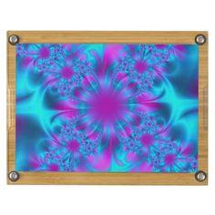 Fractal Art 24 Rectangular Cheese Board