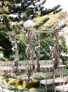"another view of this ""have no words"" chuppah. photography by stevesteinhardt.com, event design + decor by bethhelmstetter.com, floral design by hollyflora.com"