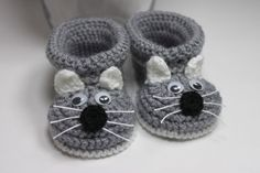 Babyschuhe gestrickt Strickschuhe gehäkelt schuhe von dummydoll auf DaWanda.com