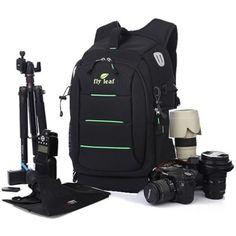 Deluxe-DSLR-Camera-Backpack-Bag-Rucksack-Case-For-Canon-EOS-Sony-Pentax-Nikon Camera Backpack, Backpack Bags, North Face Backpack, Canon Eos, Nikon, Sony, Backpacks, Best Deals, Backpack