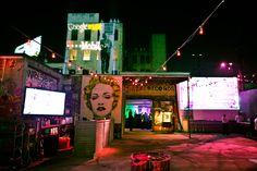 T Mobile Google Music Launch | Best Events + Bolthouse Productions #mrbrainwash #spraypaint #grunge #underground #industrial #tech #droid #graffiti #launch #madonnaface