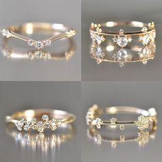 Kataoka Diamond Rings. #GetEngaged #showmeyourrings #photooftheday