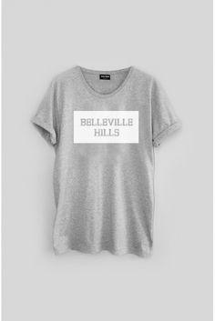 "Tshirt ""Belleville Hills"" Cadre"