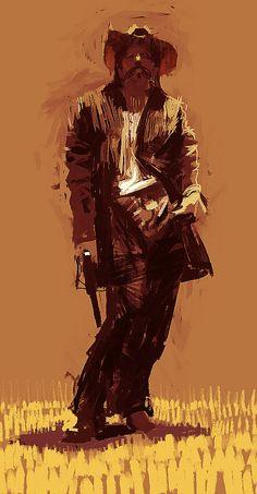 Cowboy by Craig Mullins.