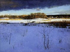 Peter Fiore  Winter Storm Clearing