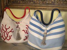 borse mare realizzate a mano da corallirossi  www.corallirossi.net