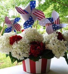 Patriotic Pinwheels | Skip To My Lou