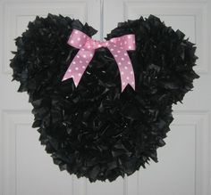 Oh boy, can't forget the pinata!     Minnie Mouse Pinata Custom Made by MommyDo on Etsy