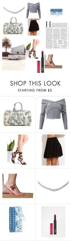 so much more than that by whateverworks21 on Polyvore featuring moda, Herschel Supply Co. and L'Oréal Paris