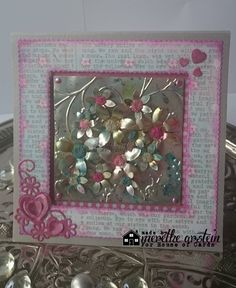 Merethes Kreative Boble: House of Cards House Of Cards, Mix Media, Stamp, How To Make, Scrapbooking, Inspiration, Creative, Biblical Inspiration, Stamps