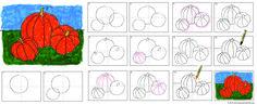 draw a pumpkin diagram