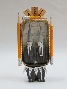 altered Altoid tin   # Pinterest++ for iPad #