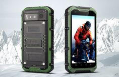 Android Rugged Smartphone 'Ox II' (Green) #smartphone #androidphone #bitcoin