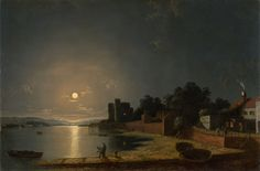 Henry Pether - Upnor Castle, Kent (1850)