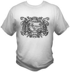 Dragon Tongue Vintage French Design T-Shirt Small Medium Large XL XXL Unisex Mens Womens Tee by TimeofReason on Etsy