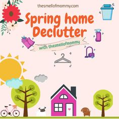 Spring cleaning and decluttering - The Smell of Mommy Spring Home, Spring Cleaning, Declutter, Clean House, Greek, About Me Blog, Posts, Lifestyle, Board