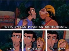 """""""The Road to El Dorado"""" - Stars. Can't do it. Not today."""