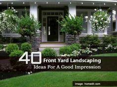 low maintenance front yard landscaping | low maintenance landscape