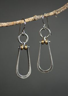 Stirrup+Earrings+by+MaggieJs+on+Etsy,+$65.00