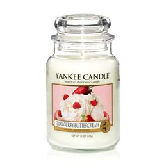 Strawberry Buttercream - Candles - Yankee Candle