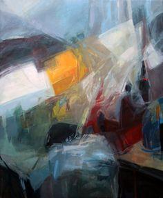 """Window"" 120x100cm, oil on canvas"