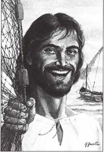 If Jesus wept, you know he smiled