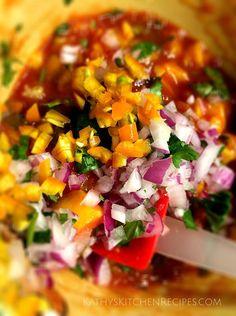 Kathy's Kitchen | Mango Jalapeno Salsa