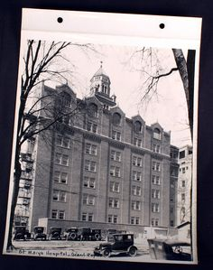 St Mary 039 s Hospital Grand Rapids Michigan 1920s