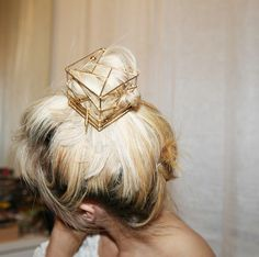 Hair jewelry in 2020 My Hairstyle, Pretty Hairstyles, Fashion Hairstyles, Bad Hair, Hair Day, Hair Inspo, Hair Inspiration, Hair Jewelry, Wedding Jewelry