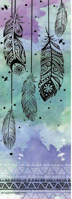 #Fondos #Pluma #Mandalas #Papel #Dibujo #Iphone #Bonito #FrasesDeLaVida #Afirmaciones #Inspiración #Deco