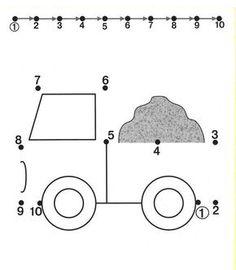 Image result for 1-10 dot to dot