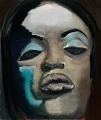 Kijk me aan.... (Naomi van Marlene Dumas)