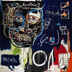Jean-Michel Basquiat - Untitled (Pecho / Oreja), 1983