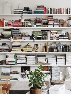 """Start copying what you love. Copy copy copy copy. At the end of the copy you will find yourself."" - Yohji Yamamoto #deco #books"