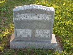 Henry Mattern (1876 - 1956) - Find A Grave Photos