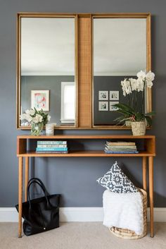 Customize Your Space: Build a MidCentury Modern Console Table | Janery