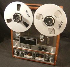 reel to reel music (70s) (after 8 track tapes, before cassette tapes)