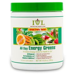 All Day Energy Greens New Fruity Flavor