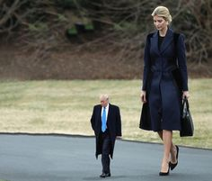 Tiny Trump Meets Ms Checks And Mrs Balances TinyTrumps Tiny - The internet is using photoshop to make tiny trumps and its hilarious