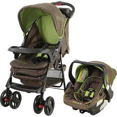 Dream On Me Wanderer Travel System Stroller and Car Seat