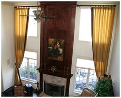 Short Window Treatment Ideas | Tall-Window-Treatments.jpg...for our great room!