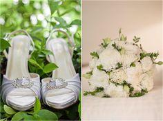 Wedding details - original photo #photography #wedding #shoes #bouquet