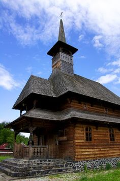 Romanian Church from baile felix Vernacular Architecture, Architecture Design, Virtual Travel, Old Churches, Moldova, Chapelle, Iglesias, Old Barns, Place Of Worship