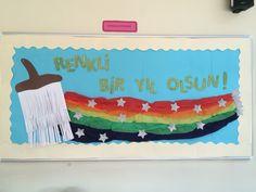 İlköğretim Rainbow Decorations, School Decorations, School Games, Happy Kids, Art Lessons, Special Day, Art For Kids, Back To School, Kindergarten