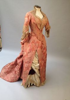 Reception Gown | House of Worth | France; Paris | 1878 | Lyon silk, lace | Thierry Demaigret | 21 May 2014/Lot 267
