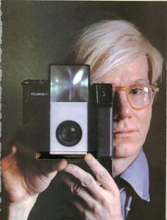 Andy Warhol hasn't ever not had his eye on the prize. I♥you Andy Warhol, ♥IamSheSawtheSun♥