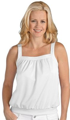 7b402665f Plus size tank tops with built in underwire bra Tank Top With Built-In Bra