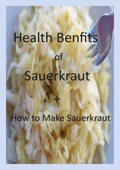 Health Benefits of Sauerkraut